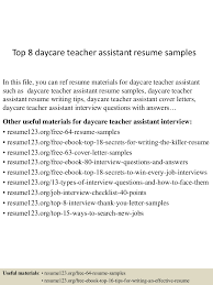 resume for assistant teacher teaching assistant cv example teacher top 8 daycare teacher assistant resume samples teacher assistant resume skills teacher aide resume template