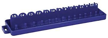 Shop-Tek / C-H <b>ABS Plastic Socket</b> Set Tray Organizer Case with ...