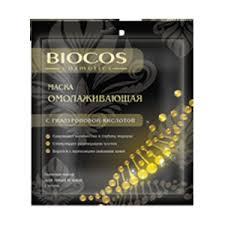 <b>Тканевая маска для</b> лица и шеи Biocos cosmetics ...