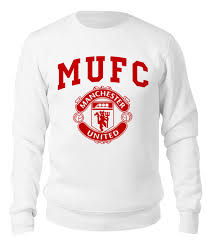 "Свитшот унисекс хлопковый ""<b>Манчестер Юнайтед</b>"" #2565643 от ..."