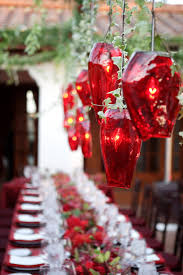 Christmas Dining Room Christmas Wonderful Red White Glass Luxury Design Decoration