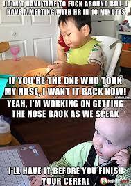 Funny Baby Memes On Internet (17 Images) | Bajiroo.com via Relatably.com