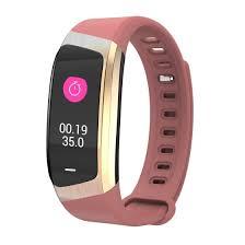 Shop <b>E18</b> IP67 Waterproof <b>Color Screen</b> Heart Rate Blood Pressure ...