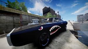 dodge charger rt shark paintjob gta mods com grand theft