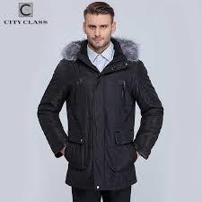 CITY CLASS <b>New</b> Thick Warm Winter Jacket Men Overcoat <b>Fashion</b> ...