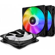 <b>Вентилятор</b> для корпуса <b>DeepCool CF120</b> 3 in 1 RGB в интернет ...