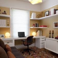 small office area in the finished basement possibly and i really like the detail basement office ideas