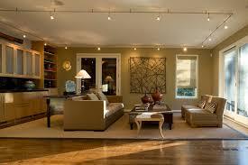 circular track lighting family room contemporary with animal print area rug blue track lighting