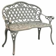 regis promo cast ironaluminum garden bench this astonishing old french styled decorative art deco outdoor furniture
