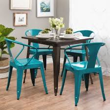4 chair kitchen table: peacock tabouret stacking chair set of
