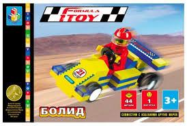 <b>Конструктор 1 TOY</b> Формула <b>1TOY</b> Т50783 Болид — купить по ...