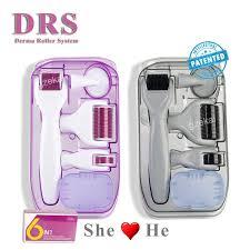 Buy <b>Original DRS 6</b> in 1 Derma Roller Microneedle Kits for Multiple ...