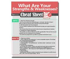 what are your strengths and weaknesses example answers included 4715cce3a5601448911500 greatest strengths cheat sheet thumb monster png