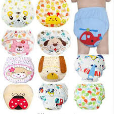 1 pc baby training pants child cloth study reusable nappy cover washable diapers underwear pull ups with bamboo inner