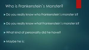 man made monsters by daniel cohen who is frankenstein`s monster who is frankenstein`s monster iuml129micro do you really know who frankenstein`s