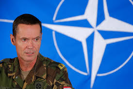 nato could have trouble combating putin s military strategy dutch brigadier general tak head of nato s crisis management centre attends a news