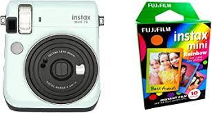 Fujifilm Instax Mini 70 - Instant Film Camera (Icy Mint ... - Amazon.com