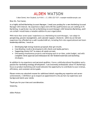 Best Account Manager Cover Letter Examples   LiveCareer LiveCareer