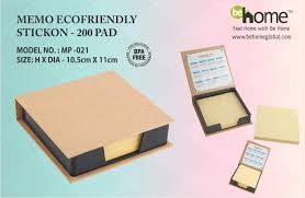 eco friendly memo pad behome images