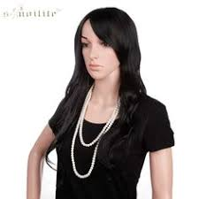 <b>HAIR SW Long</b> Body <b>Wave</b> Synthetic <b>Hair</b> Lace Front Wigs Ombre ...