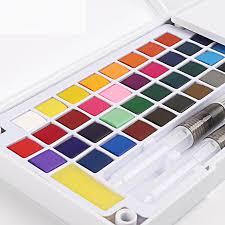Best Seller 12/18/24/36 Colors Portable Travel Solid Pigment ...