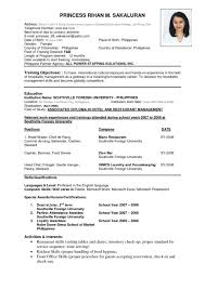 resume template cv form format templates in word inside 85 85 glamorous able resume templates template