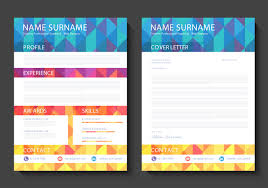 curriculum vitae vector template vector art curriculum vitae vector design