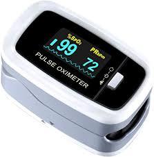 Pulse Oximeter Fingertip, ATMOKO Pulse Oximeter ... - Amazon.com
