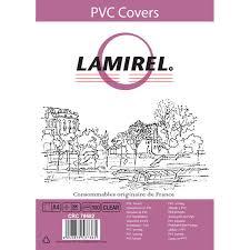 <b>Обложка</b> для переплета <b>Lamirel Transparent</b> A4 прозрачная ...