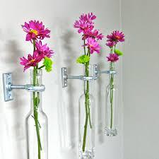 umbra wallflower wall decor white set:  wine bottle wall flower vases wall vase wall decor