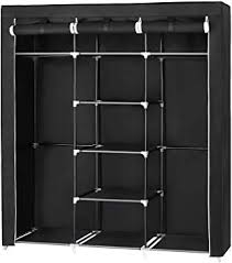 SONGMICS Portable Clothes Closet Non-woven ... - Amazon.com