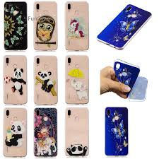 Cute Elephant Cover sFor <b>Coque Huawei</b> P20 Lite <b>Soft TPU</b> Phone ...