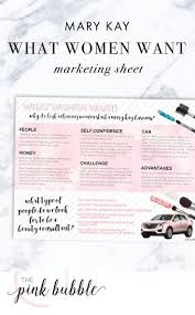 best images about team building a month texts mary kay what women want marketing sheet it only at thepinkbubble