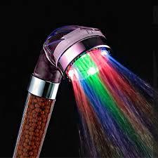 Comprar <b>PVIVLIS</b> caliente <b>LED</b> anión ducha <b>SPA</b> cabeza de ducha ...