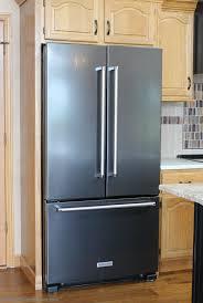 black appliance matte seamless kitchen: black stainless steel from kitchenaid villagehomestorescom