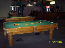 room pool table canadian