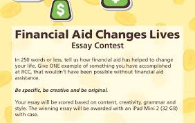 financial aid awareness week essay contest jpg