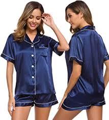 satin pajamas - Amazon.com