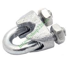 Купить <b>Зажим</b> стальной <b>3мм DIN741</b> для <b>троса</b> оцинкованный ...