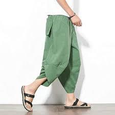 XXXL FAIYIWO <b>Large Size Loose</b> Radish Pants Mens Harem Pants ...