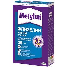 Купить <b>клей обойный Metylan Флизелин</b> Ультра Премиум 250г ...
