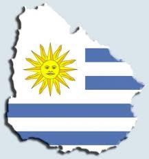 Resultado de imagen para mapa de uruguay