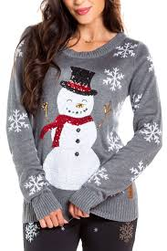 <b>Sequined</b> Snow Day Women's <b>Christmas</b> Sweater | Tipsy Elves