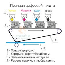 "Принцип цифровой печати — Типография ""Два клена"""