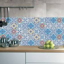 CZ021 3D Tile Floor <b>Wall Sticker</b> 3PCS | Cabin | <b>Kitchen</b> wall ...