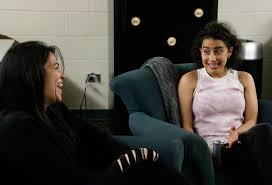 interview broad city stars make hilarious bu appearance the broad city stars abbi jacobson and ilana glazer discuss the creation of their show bu central