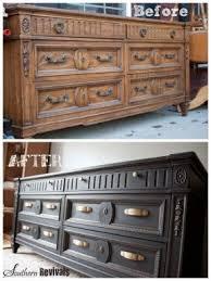 fab dresser makeover clic black and gold top 60 furniture diy projects negotiation bedroom furniture makeover