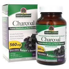 <b>Charcoal</b> (<b>activated</b>) 90 vegetarian capsules