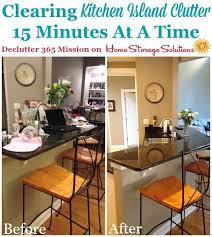 declutter kitchen tips