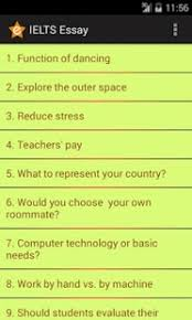 ielts essay   android apps on google play    ielts essay  screenshot thumbnail